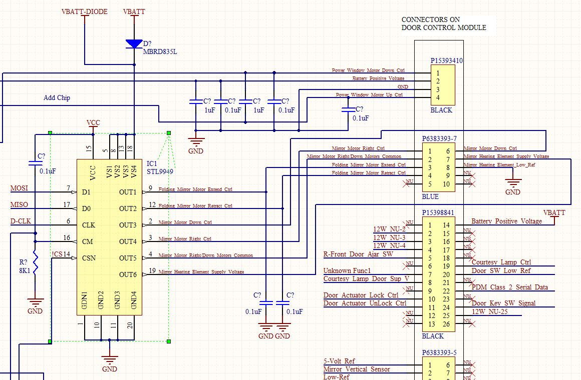 H2 Power Fold Mirrors - Wiring  Fuse  Relay - Page 2 - Hummer Forums