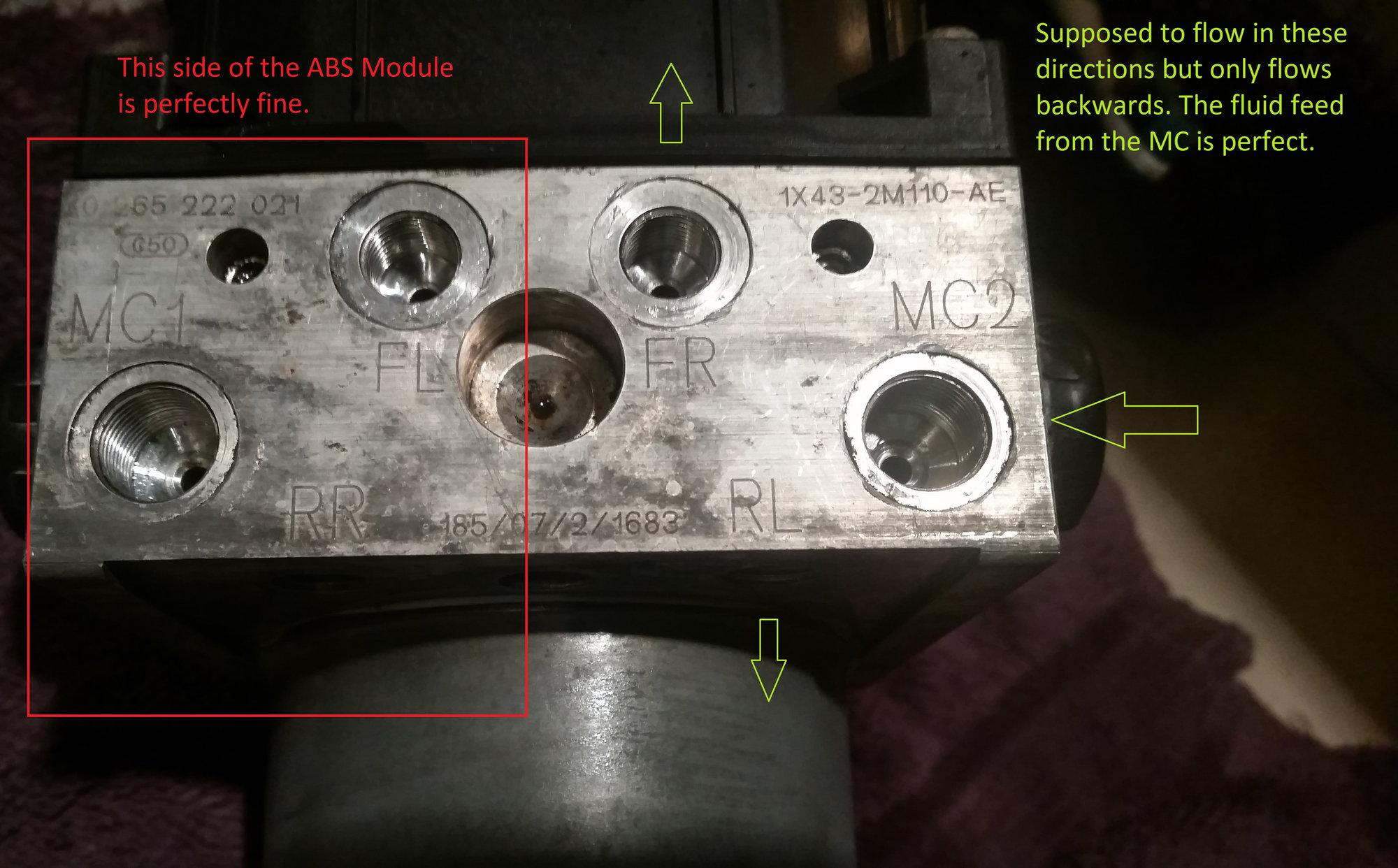 Stuck ABS valve? - Jaguar Forums - Jaguar Enthusiasts Forum