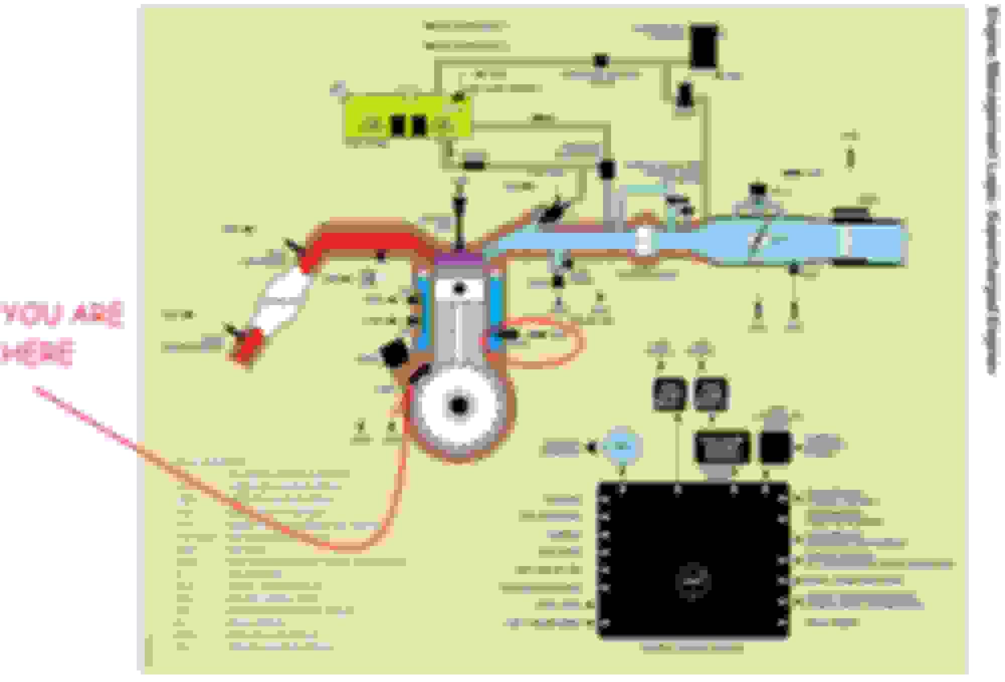 Engine Oil Temperature Sensor Also Oil System Flow Diagram ... on
