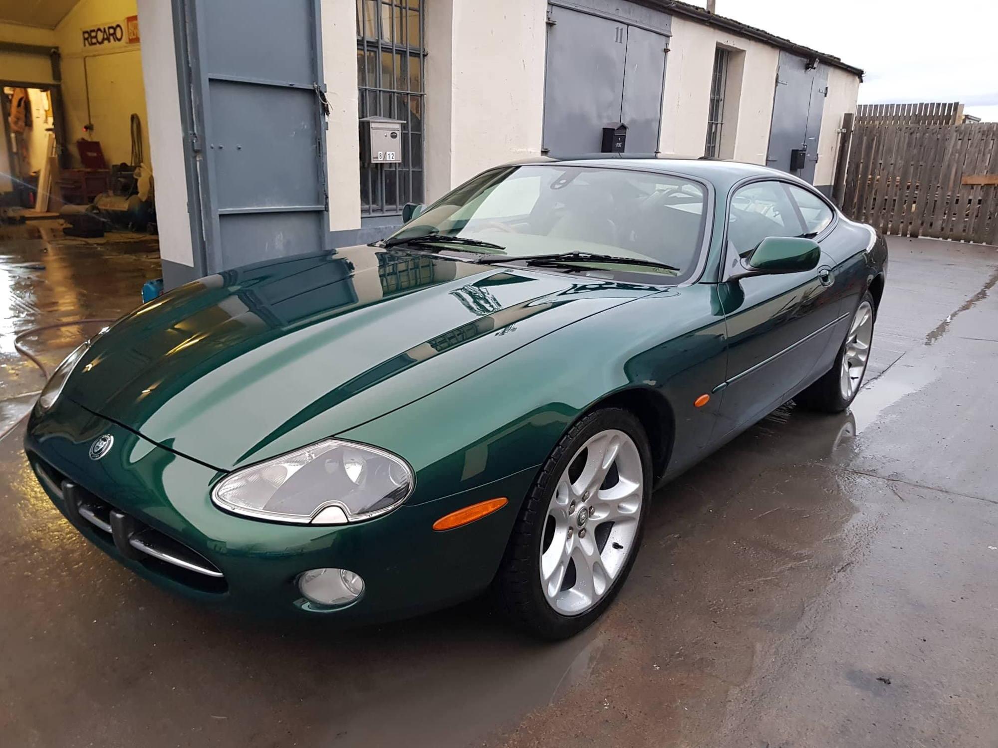 Jaguar XK8 4.2 2003 Coupe - Jaguar Racing Green ...