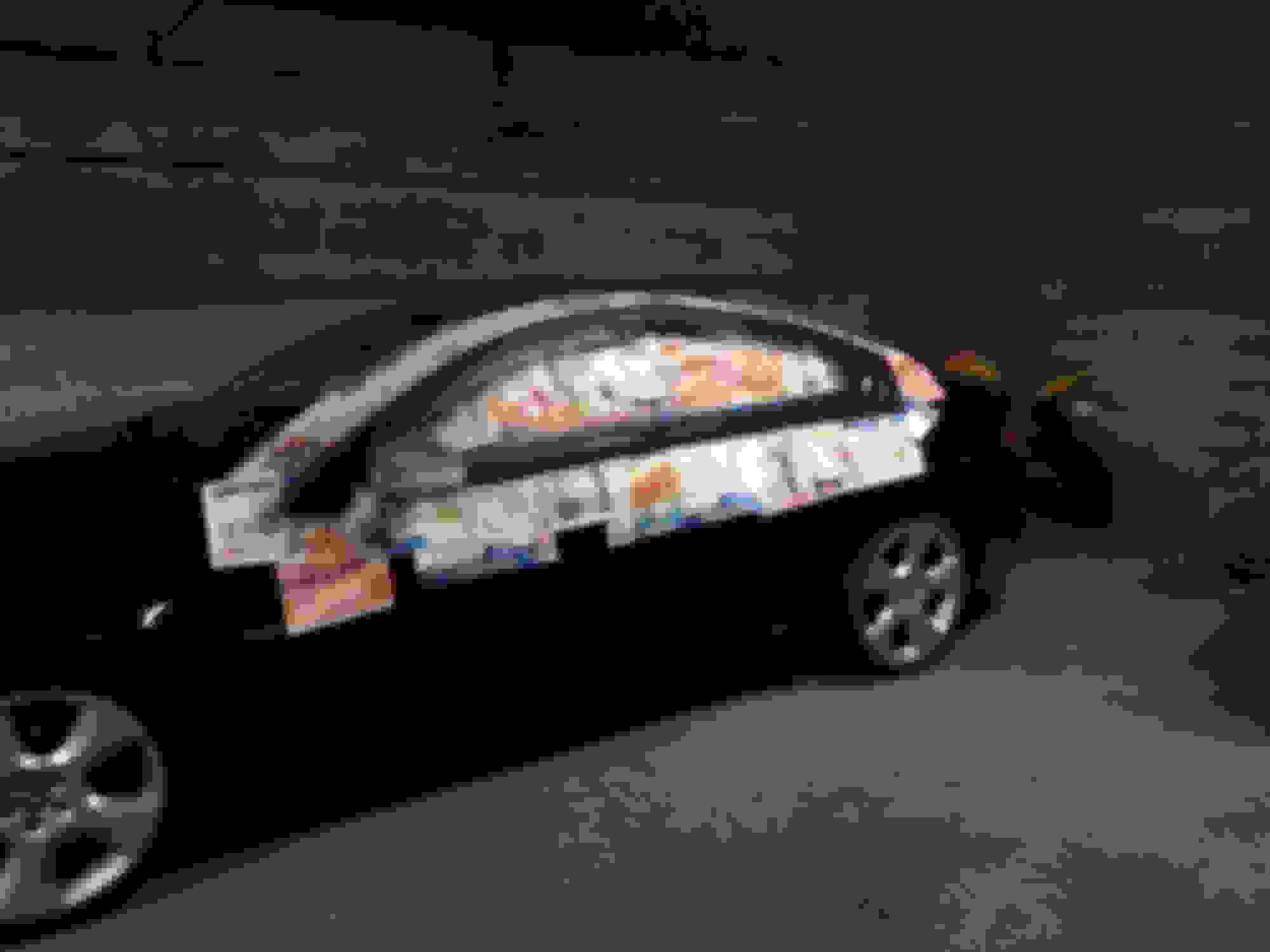 Painting/wrapping chrome side window trim - Jaguar Forums