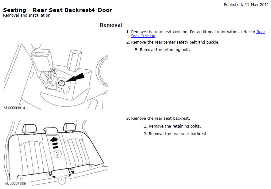 service manual  how to remove 2006 jaguar x type headrest