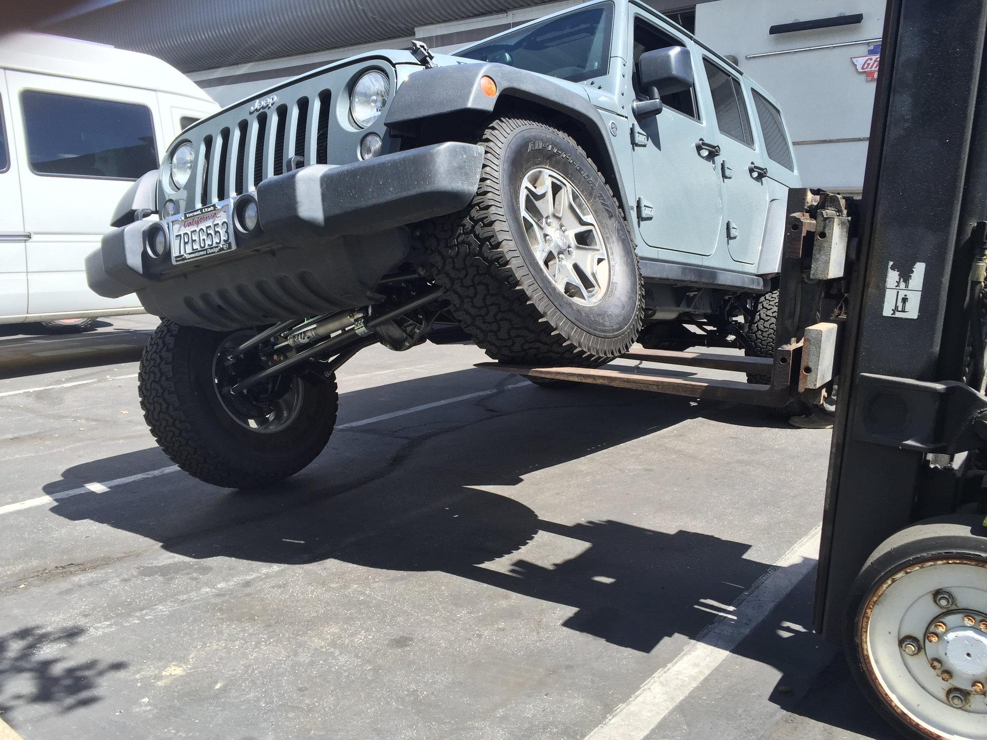2014 Jeep Wrangler Rubicon Unlimited, 6spd, 16k miles - JK