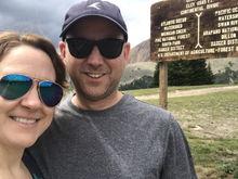 Top of Georgia Pass