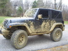 Just a little muddy