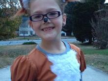 Loralei on Halloween :)