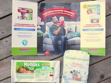 Huggies sample pack