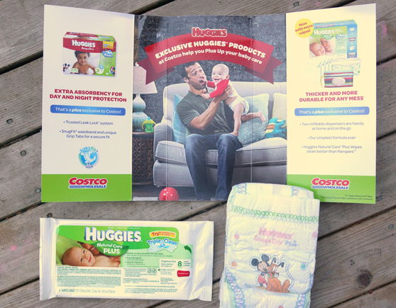 Huggies sample pack