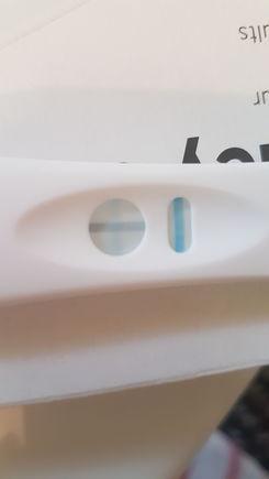 It's faint but is it positive??