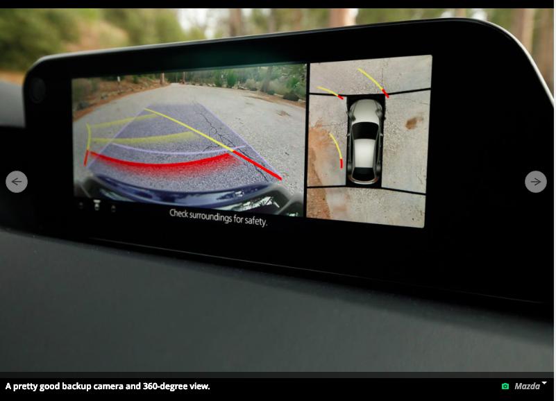 2019 Mazda 3 - Parking Sensors  U0026 360 Camera