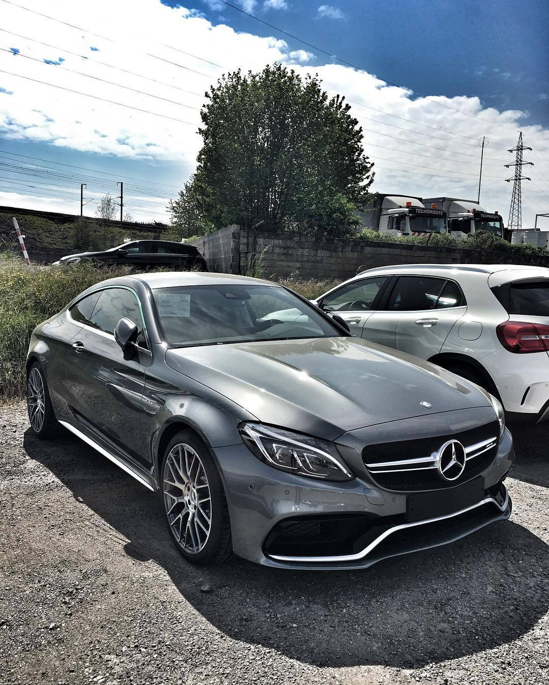 Mercedes-AMG C63S Coupe in Selenite Grey (PICS) - Page 17 ...