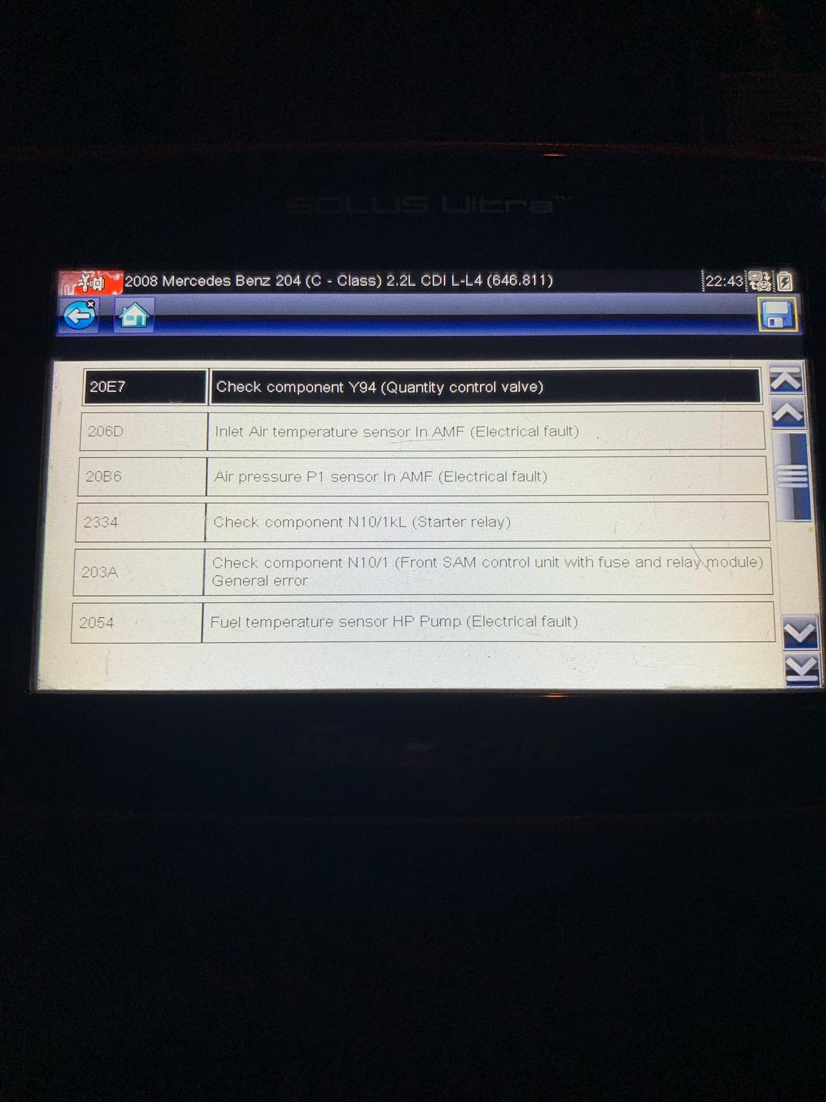 P0402/P0299 Codes and Limp Mode - W204 C250 CDI - MBWorld org Forums