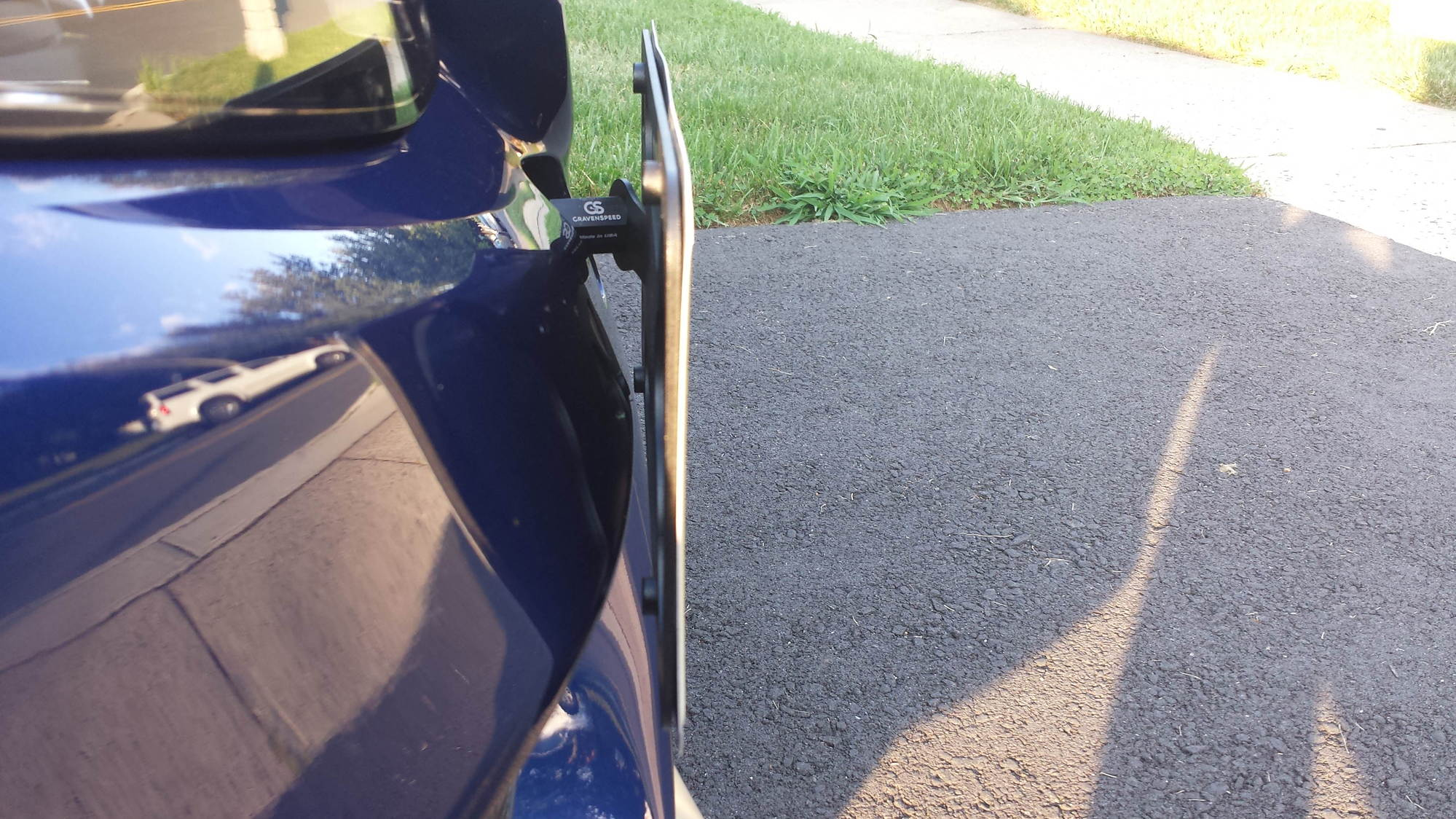 Way to mount front license plate - MBWorld org Forums