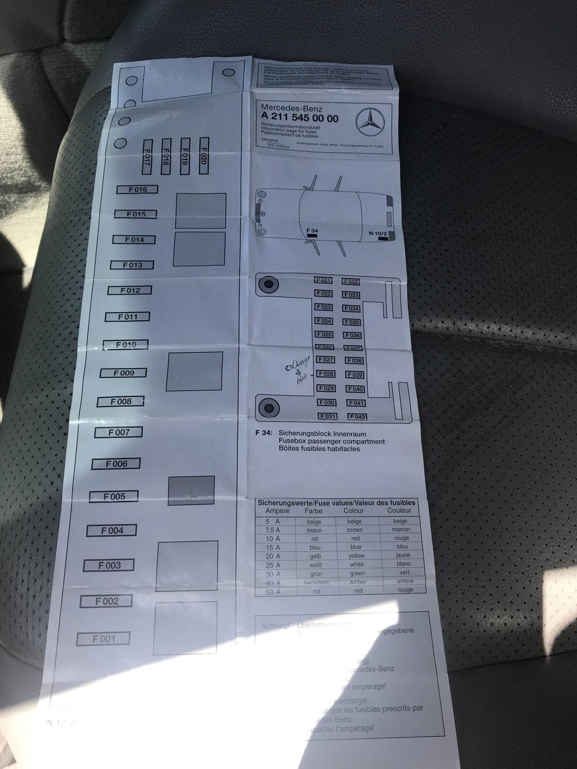 2007 Ml320 Cdi Fuse Diagram Content Resource Of Wiring 2000 Mercedes Box Location Diagrams Detailed Schematics Rh Drrobertryandundee Com Benz A Class