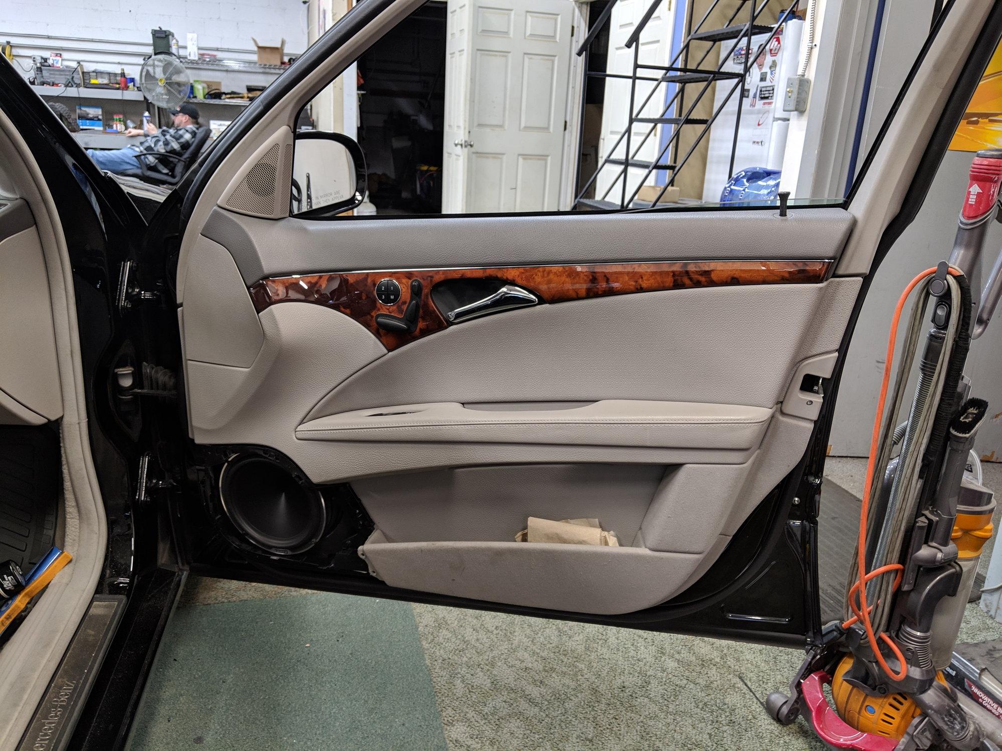 Kenwood/Audison/Hertz Car Audio Install - MBWorld org Forums