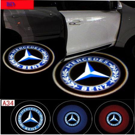 Cool mercedes door laser shadow light forums for Mercedes benz door lights