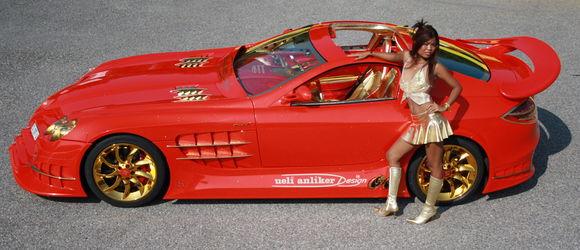 McLaren SLR Red Gold Dream 5
