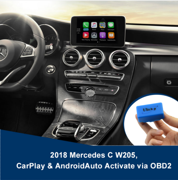 MY 2018 W205 Apple CarPlay / Android Auto activate