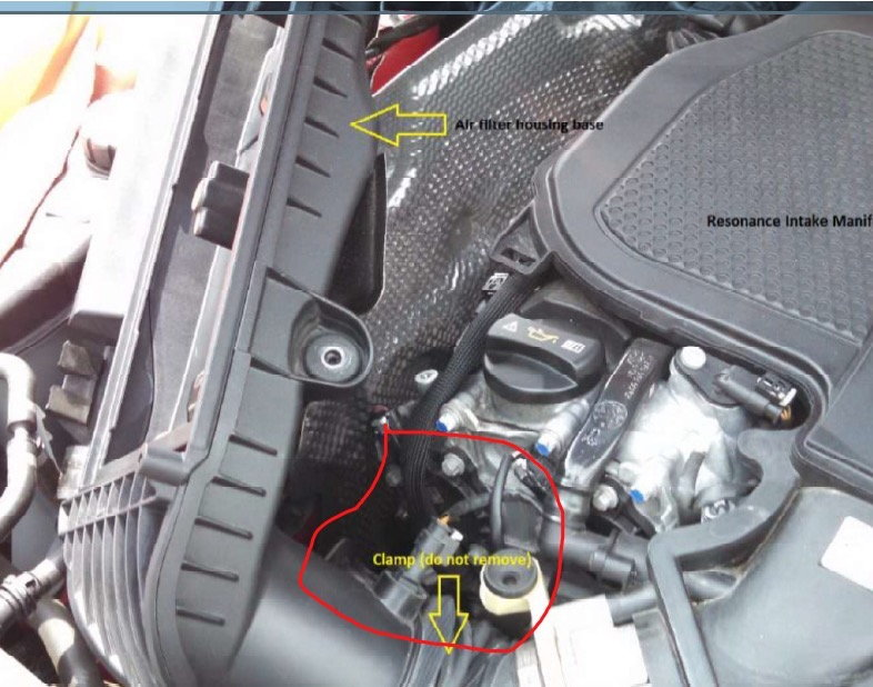 Is This Mass Air Flow Sensor On 2013 C300 Engine Mbworld Org Forums