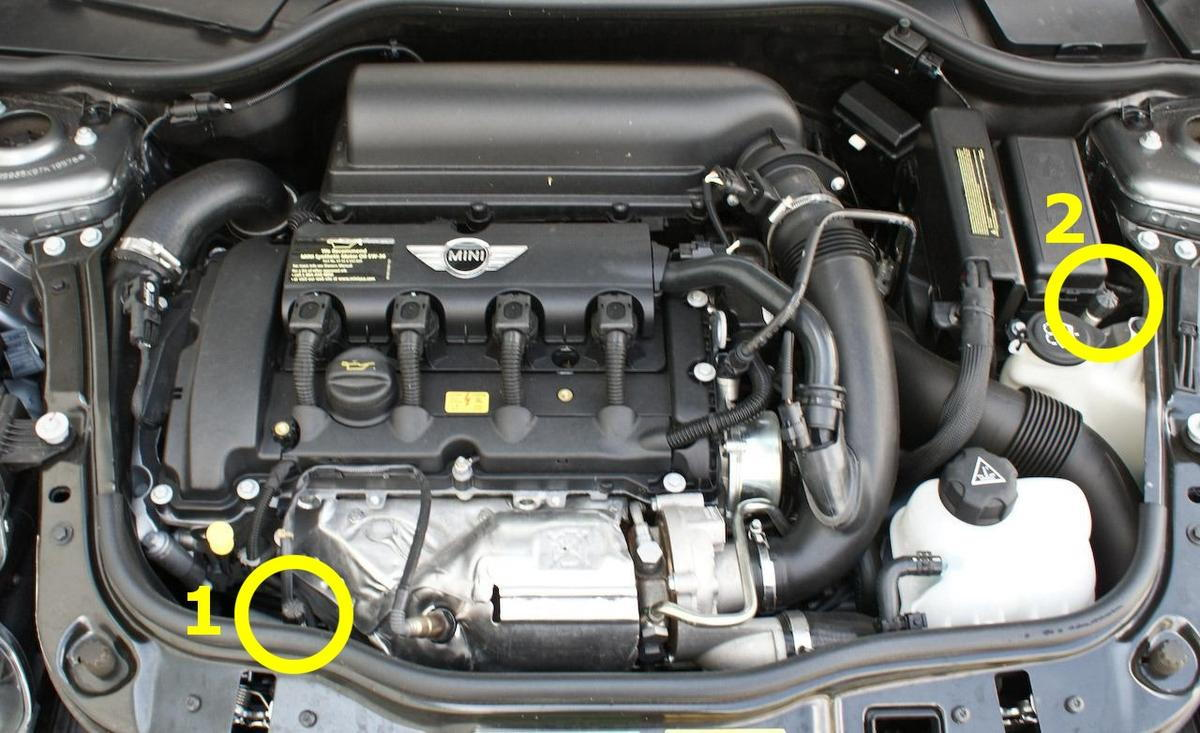 How To Install BSH OCC on 2009 R56 With Optional Hood Latch Sensor ...