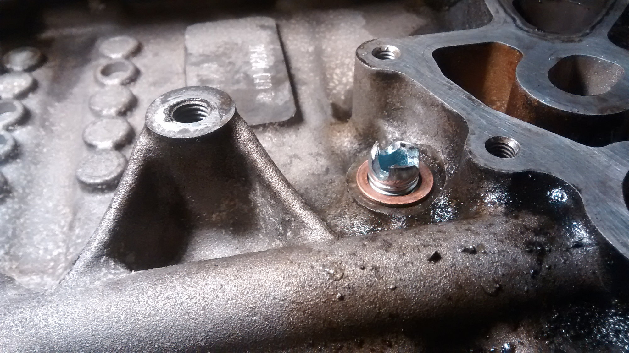 How To Oil cooler/filter housing gasket replacement - North