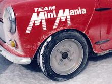 Mini Cooper after a Salt Lake run