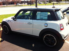 The day I bought this 2013 Mini Cooper S