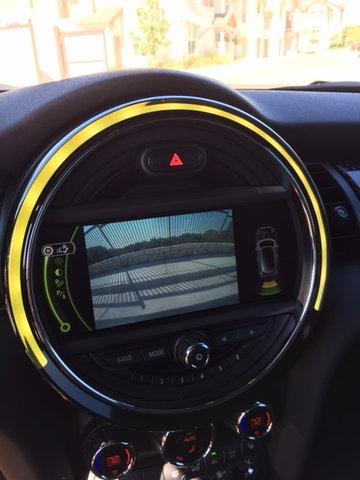 Navigation & Audio SMS on MINI's display - North American
