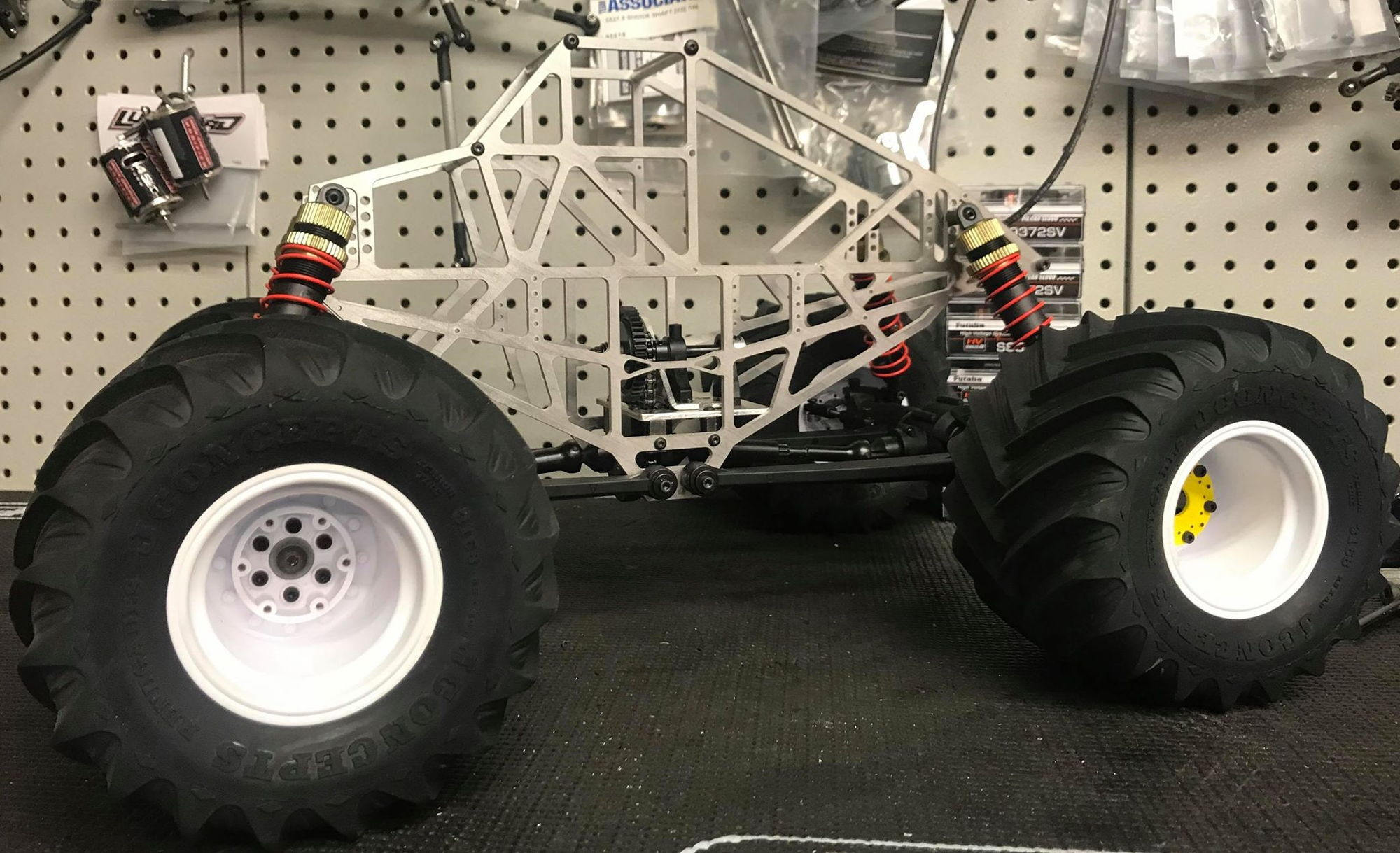 Solid Axle Rc Monster Truck Kit Cheap Online
