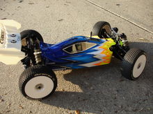 th scale rc car SERPENT W KUSTOM GRAPHIX RC PAINTED BODY 035