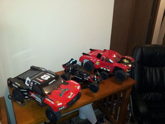 my losi vehicles
