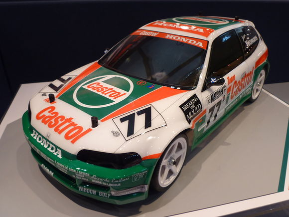 tamiya castrol honda civic vti rc car