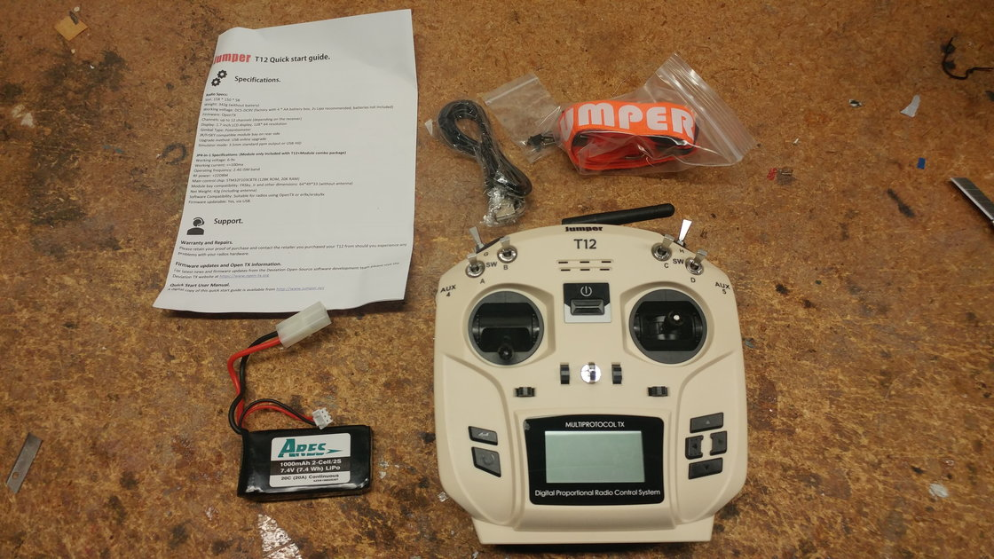 Jumper T12 Transmitter - RCU Forums