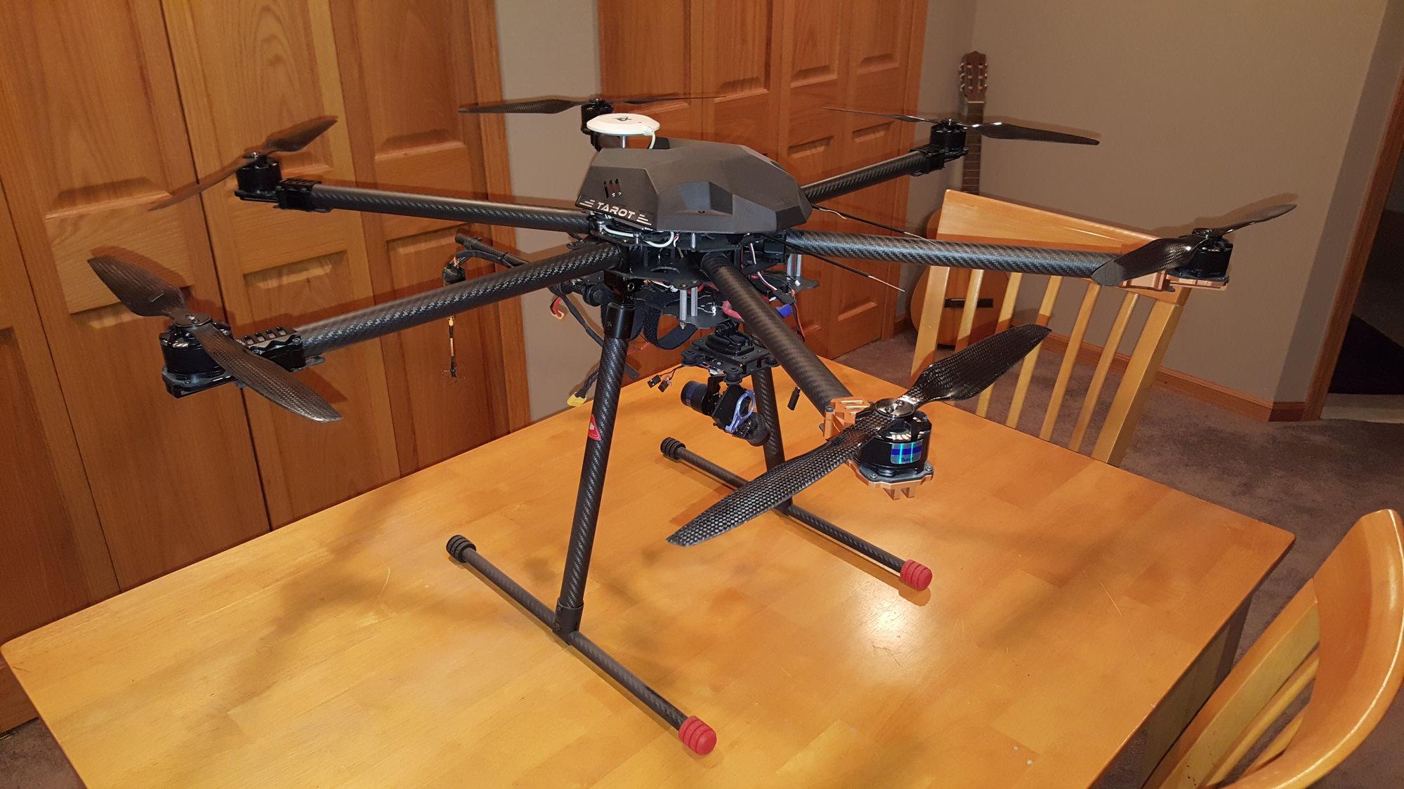 Tarot T960 Carbon Fiber Hexacopter - RCU Forums