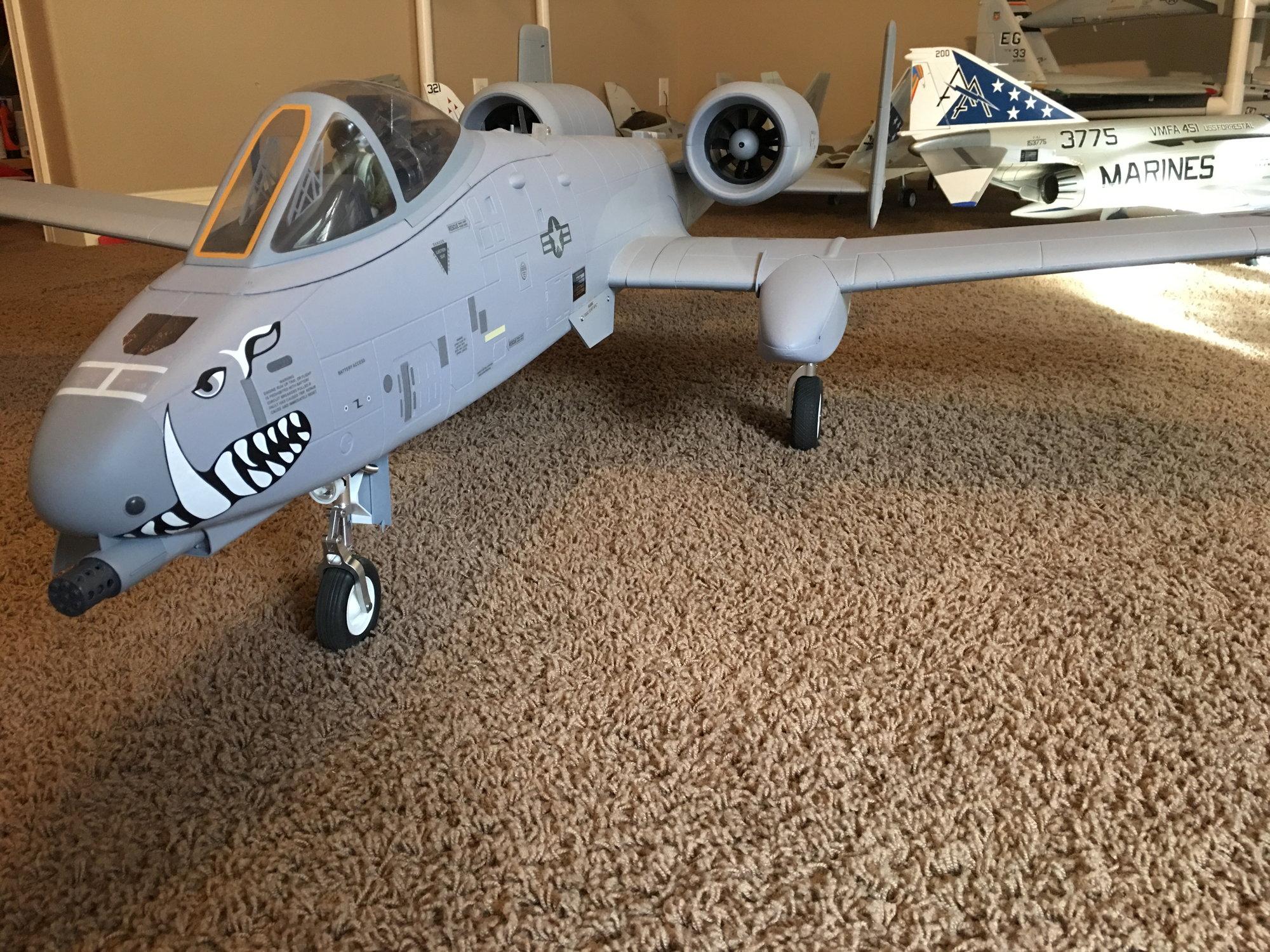 Freewing A-10 Warthog 90mm EDF - RCU Forums