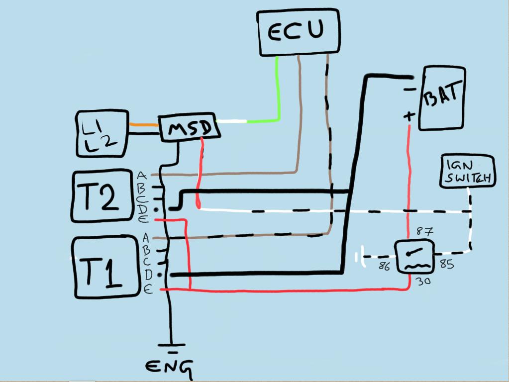 Wiring diagram check (AEM coils) - RX7Club.com - Mazda RX7 Forum