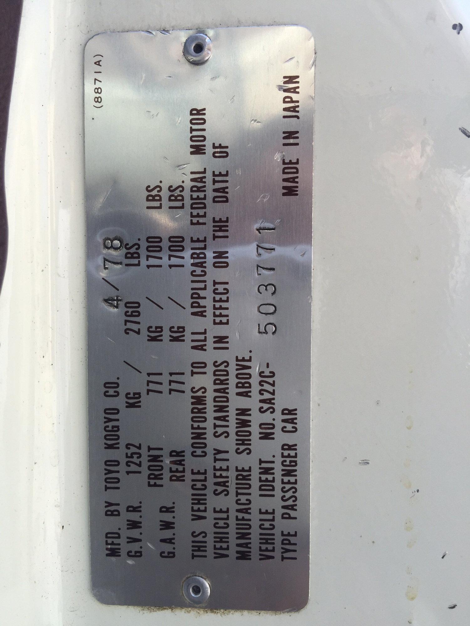 A/C how to tell if its R12 or R134a ? - RX7Club com - Mazda RX7 Forum
