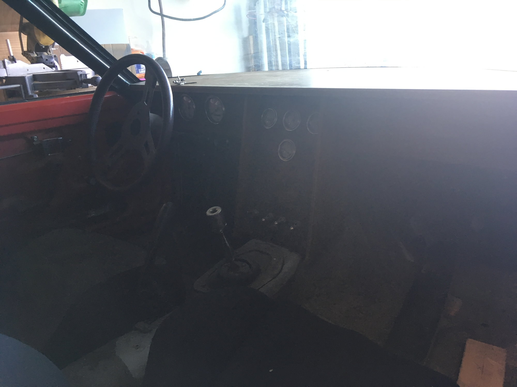 Derek From Texas Mazda Rx7 Forum Car Chair Wire Harness 84 Street Port 12a Racing Beat Headers Msddfis Weber 48 Gilmer Drive Pulleys Gutted Interior With Custom Wood Dash Due To Burning The Up