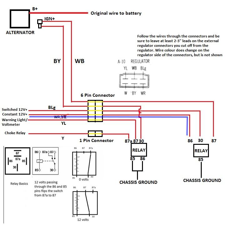 How To  1979 Alternator Upgrade - Rx7club Com