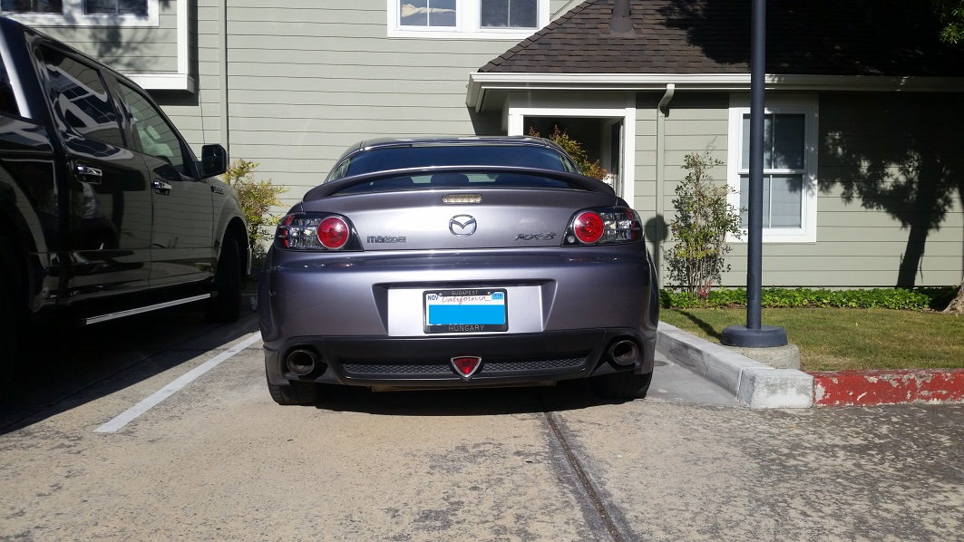 Rear Left Right Shocks for 09-13 Mazda 6