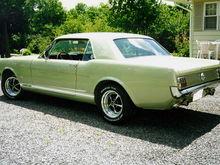 '66 factory GT. Medium Sage, 4 speed toploader, bench seat, 3.00 rear, freshly rebuilt A Code 289