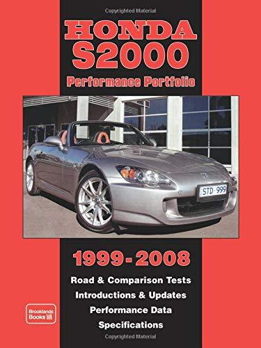 2008 Honda S2000 and S2000 CR Dealer Sales Brochure Mint!