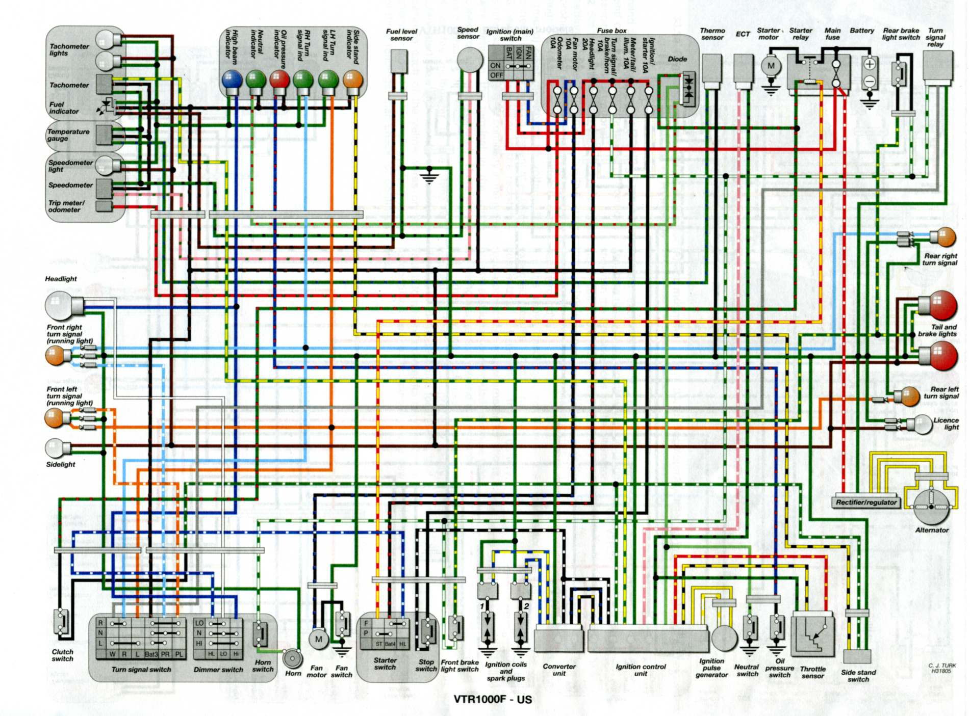 Rc51 Sp2 Wiring Diagram Just Another Data Cbr250 Whos Still Around Lets Talk Hawks Superhawk Forum Is You Would Need