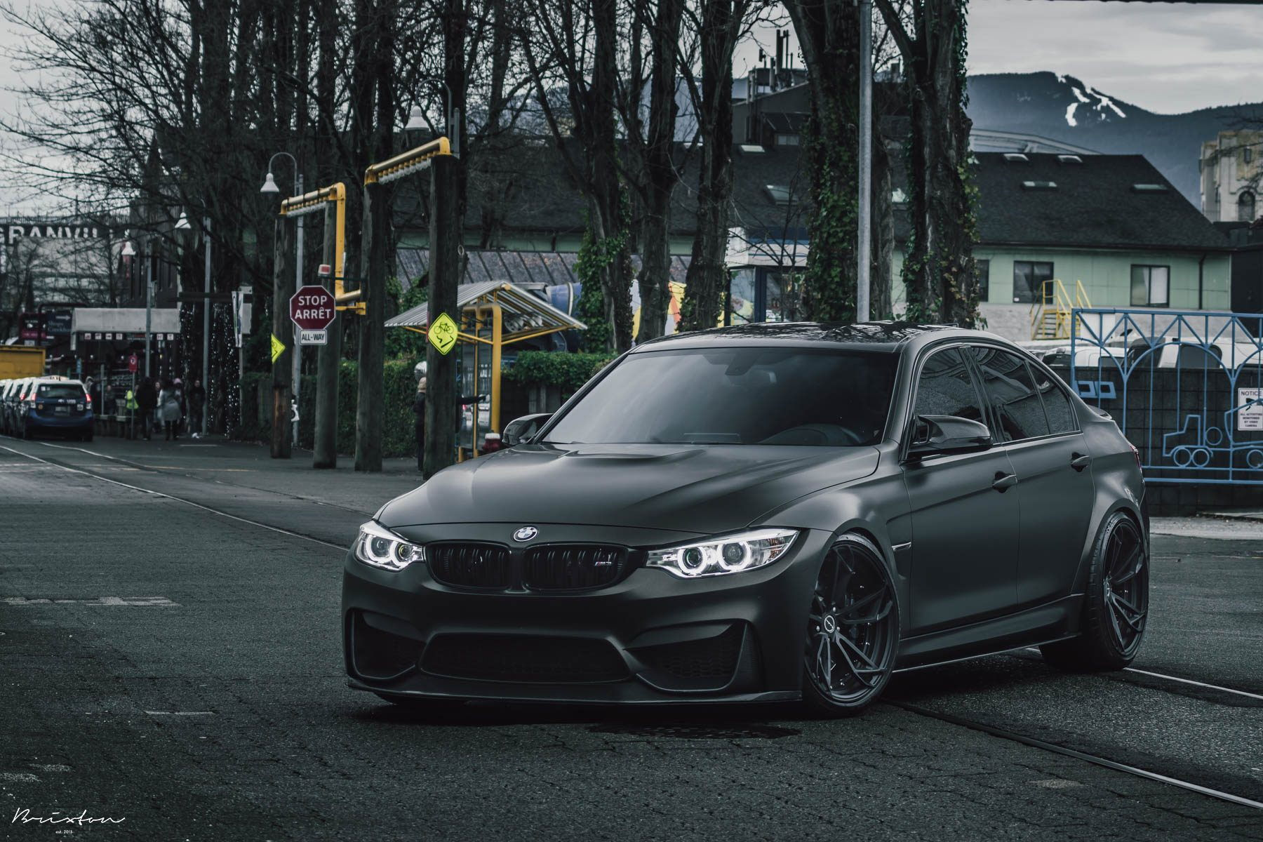 murdered out f80 m3 brixton pf1 6speedonline porsche. Black Bedroom Furniture Sets. Home Design Ideas