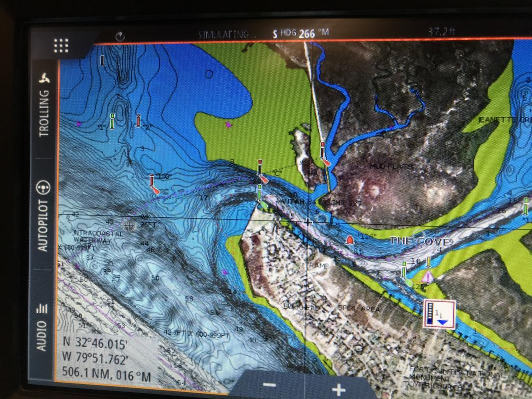 Simrad GO7 GPS chart problem - The Hull Truth - Boating and