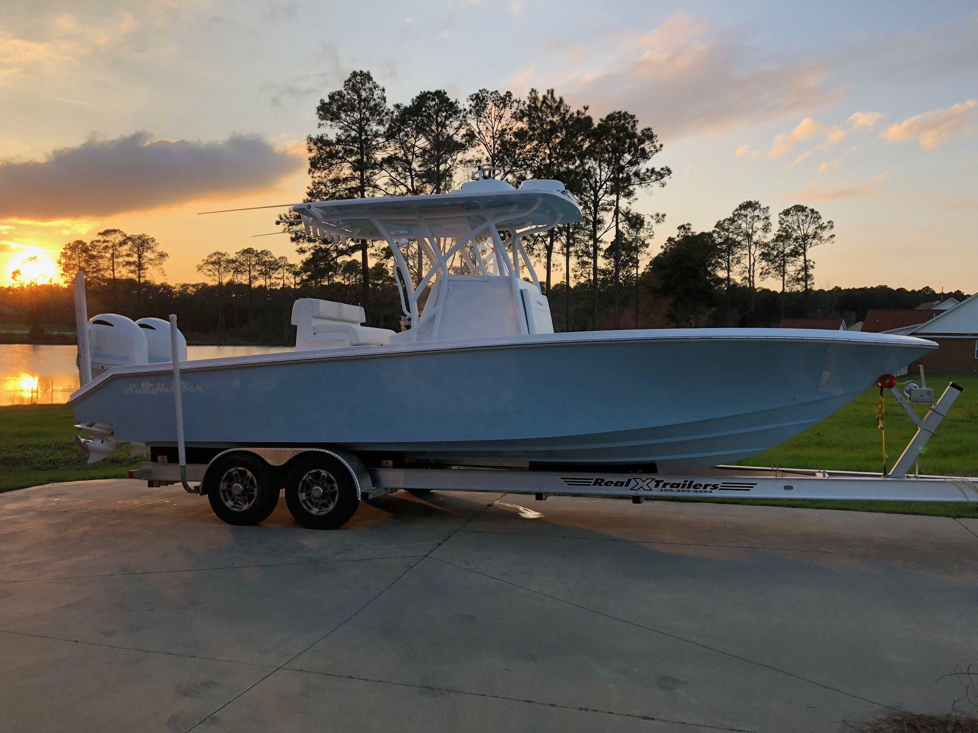 Power Boats For Sale >> 2017 28' Seahunter Floridian - The Hull Truth - Boating ...