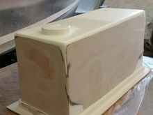 Bondo and plenty of time with a sanding board