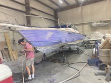 Fairing sides for all new paint
