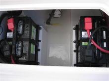 Bilge, batteries replaced summer 2011