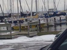 frigid winter day on the docks - photo courtesy of Sea Tow Hampton Roads